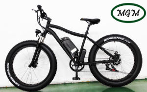 500W Big Power Fat Tire Mountain Electric Bike pictures & photos