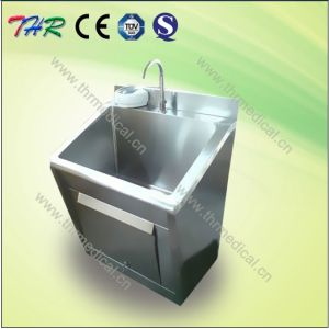 Stainless Steel Scrub Sink Hospital Furniture (THR-SS011) pictures & photos