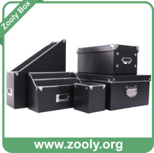 Desktop Cardboard Storage Box / File Storage Box pictures & photos