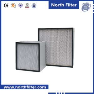 Aluminium Profile Frame Deep Pleat Filter Box HEPA Air Filter pictures & photos