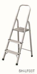 Step Stool Foldable Aluminum Ladder (SH-LF03T) pictures & photos