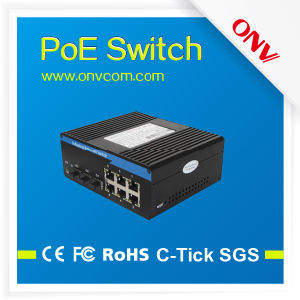 6 Poe Ports Industrial Power Over Ethernet Switch