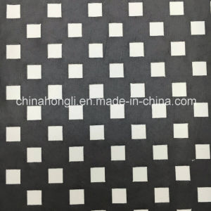 Fashion Laser Cutted P/Sp 95/5 Single Jersey Knitted Fabric with PU Coating pictures & photos