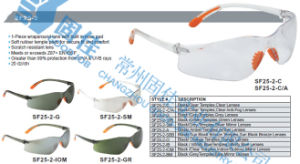 CE Approved Safety Goggles