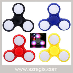 2017 Top Selling Toys Finger Gyroscope Toys LED Fidget Spinner pictures & photos