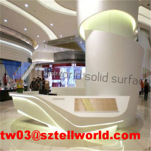 Arylic Lighted Commercial Restuarant Reception Desk pictures & photos