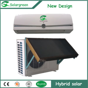 Lower Price Split Wall Mounted Hybrid Solar Air Conditioner, Solar AC pictures & photos
