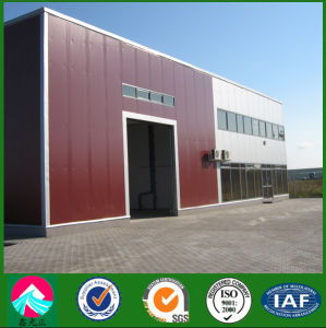 Energy Saving Building Single Span Industrial Building Steel Structure Workshop pictures & photos