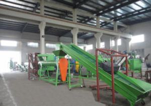 Pet Flakes Recycling Line&Pet Flakes Cold Washing Line pictures & photos