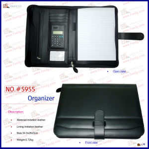 PU Leather Carrying Files Bag (5955) pictures & photos