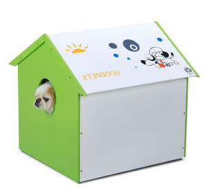 Retailing Cute Painted MDF Pet Living House Manufacturer pictures & photos