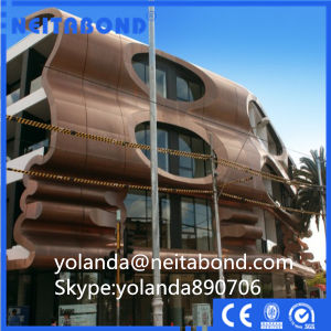 Glossy Aluminum Composite Panel with Feve Coating pictures & photos