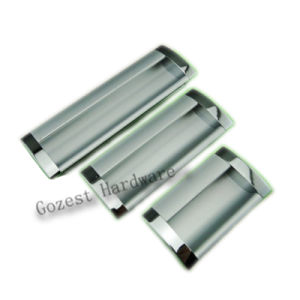 Aluminum Alloy Concealed Handle for Cabinet (K0318) pictures & photos