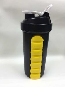 22oz Shaker Bottle with Pill Container pictures & photos