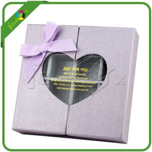 Custom Heart Shaped Wedding Gift Box for Chocolate Wholesale pictures & photos
