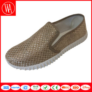 Casusl Flat Comfort Women Slip-on Shoes pictures & photos