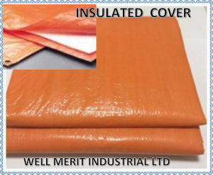 PE Insulated Tarp Insulated Cover with Foam pictures & photos