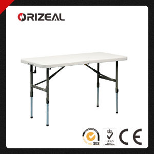 Orizeal 4-Foot Adjustable Folding Table Oz-T2040 pictures & photos