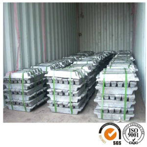 Supply Pbsb0.5 Pbsb2.0 Antimony Lead Ingot Used for Cable Sheathing pictures & photos