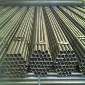 ERW Welded Carbon Black Structure Transportation Steel Pipe pictures & photos