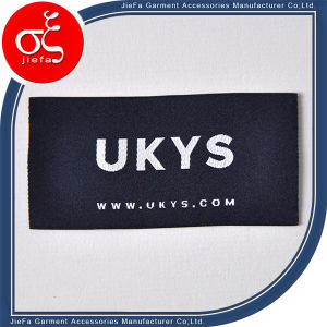 Profession Custom Soft Polyster Woven Label for Clothing pictures & photos