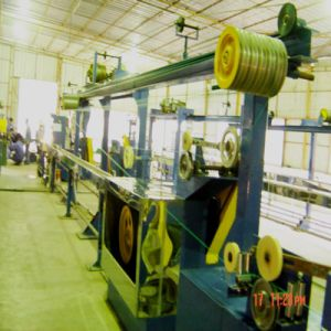 Single Screw Cable Extruder Production Line pictures & photos
