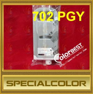 Compatible 700ml 702 Ink Cartridge for Canon Ipf 8000/9000/9100 Color Pgy (PFI-702) pictures & photos