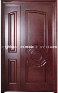 Waterproof Teak Wood Main Flush Entry Door Models for Home pictures & photos