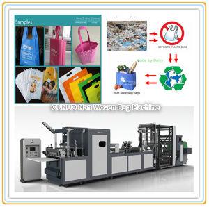 Custom Printed Non-Woven Shopping Bag Machine pictures & photos