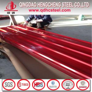 24 Gauge G40 PPGI Color Zinc Corrugated Metal Roofing Sheet pictures & photos