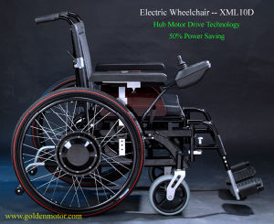 Two Kind of Power (manual&electric) Brushless Wheelchair pictures & photos