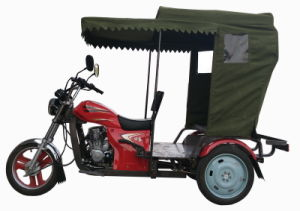 Latest Type Rickshaw Passenger Gasoline Tuktuk Tricycle 150cc Motorcycle (HDM150ZK-26) pictures & photos