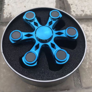 Hot Popular 6-Sided Metal Fidget Spinner pictures & photos