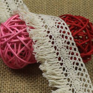 New Style Cotton Fringe Lace for All Kind of Decorations pictures & photos