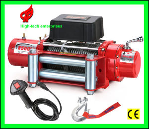 Zhme 12V 8500lbs DC Electric Winches with Handheld Remote pictures & photos