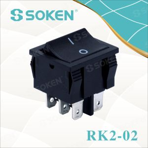 Soken Dpdt Rocker Switch pictures & photos
