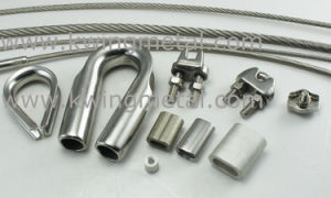Stainless Steel Wire Rope & Accessories (MR07) pictures & photos