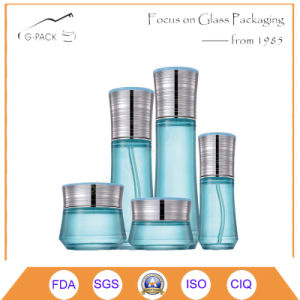 Full Set of Glass Perfume Bottles, Cosmetic Jars pictures & photos