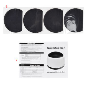 Nail Gel Polish Remover Machine, Steam off Gel Removal Nail Steamer pictures & photos