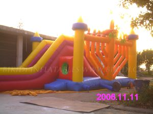 Inflatable Slides for Chabad Chanukah (B4027) pictures & photos