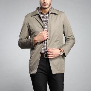 OEM Latest Fashion Khaki Cotton Casual Man Work Jacket pictures & photos