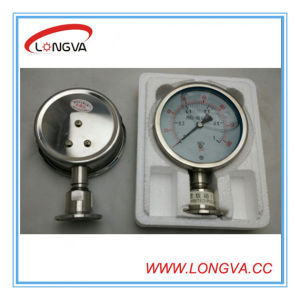 Stainless Steel Liquid Pressure Gauge pictures & photos