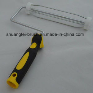 """9"""" *5 Wire Plated Chrome Paint Roller Handle with 44mm Cage pictures & photos"""