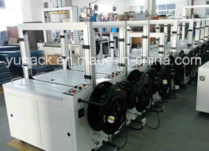 Yupack Automatic Plastic&PP&Polychem&Polypropylene&Poly Strapping Machine with CE pictures & photos