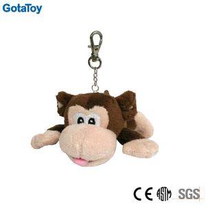 Custom Plush Monkey Keychain Stuffed Soft Toy Keyring pictures & photos
