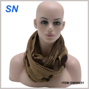 Fashionable High Quality Acrylic Knit Men Scarf pictures & photos