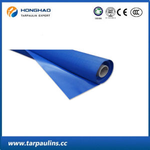 Blue PVC Tarpaulin Fabrics Roll for Covering, Tarp Sheet pictures & photos