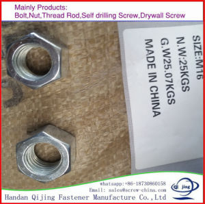 Hex Thin Head Nut pictures & photos