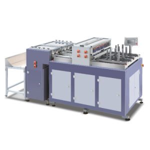 Automatic Grooving Machine with Corner Cutting Device pictures & photos