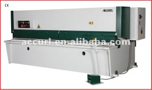 Hydraulic Cutting and Shearing Plate Machine pictures & photos